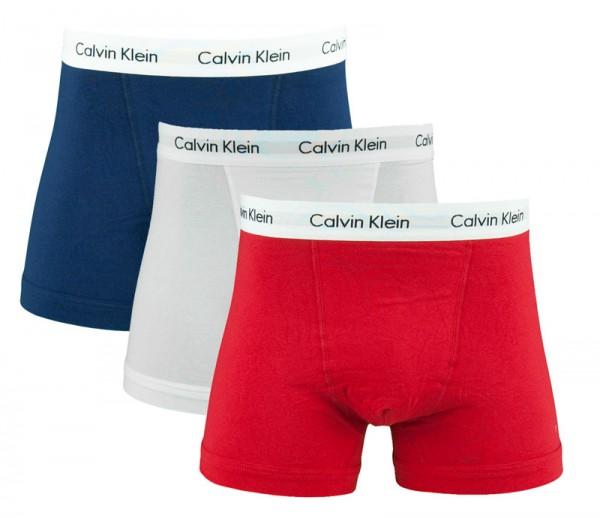 Calvin Klein boxershorts 3-pack rood-wit-blauw