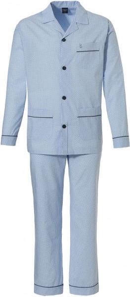 Robson Doorknoop pyjama heren lichtblauw