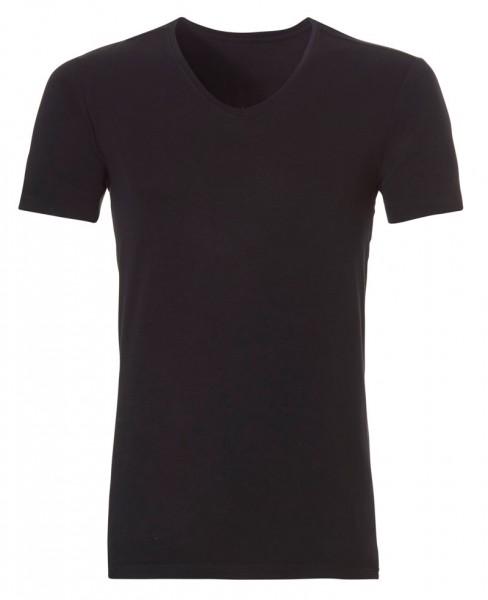 Ten Cate Bamboo V-neck shirt zwart