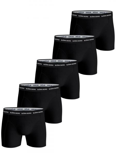 Bjorn Borg boxershorts Essential 5-pack zwart