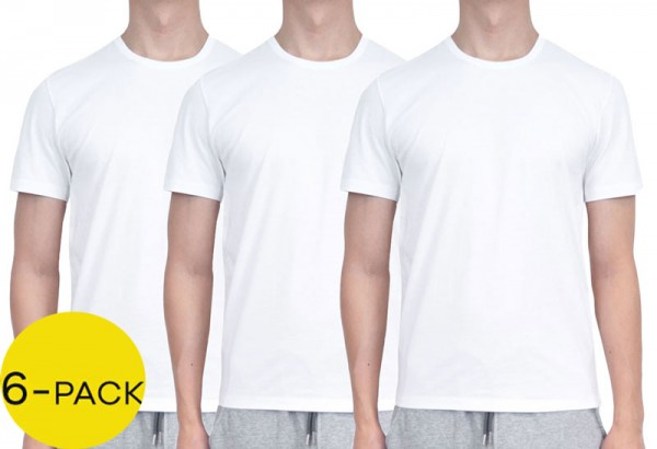 Hugo Boss T-shirts 6-pack wit 50325388