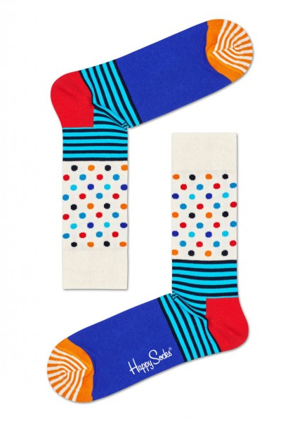 Happy Socks Sokken stripe-dot