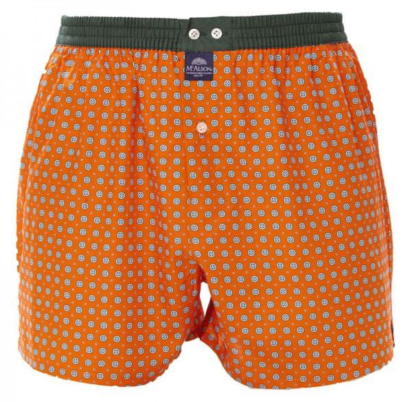 McAlson boxer met binnenbroek oranje