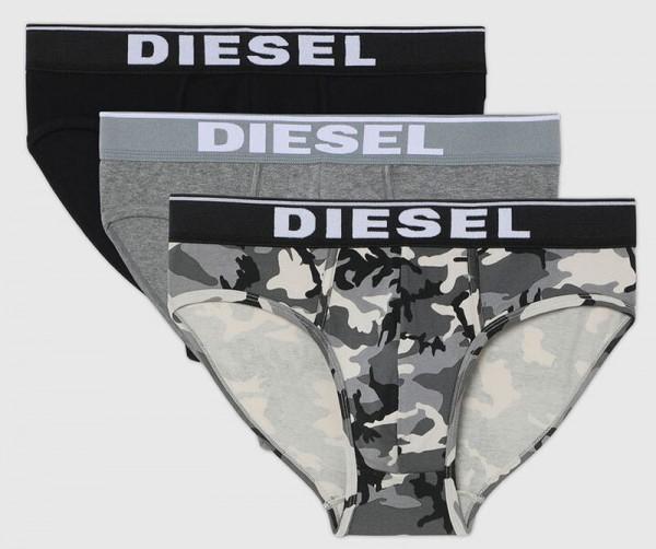 Diesel slips Fresh-bright Camouflage 3-pack