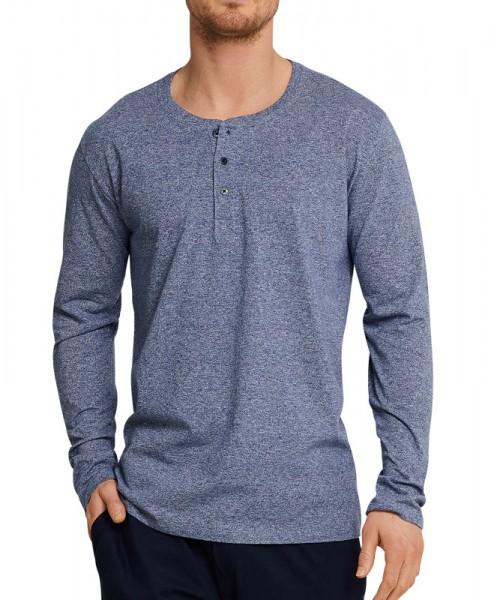 Schiesser Pyjamashirt met knoop