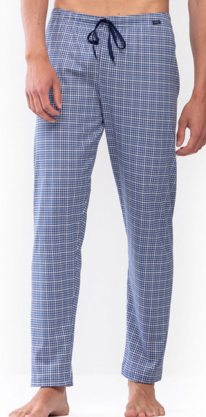 Mey blauwe pyjamabroek voorkant