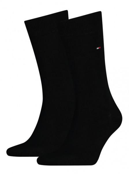 Tommy Hilfiger sokken zwart 2-paar