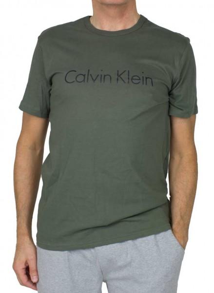 Calvin Klein T-shirt met logo print groen