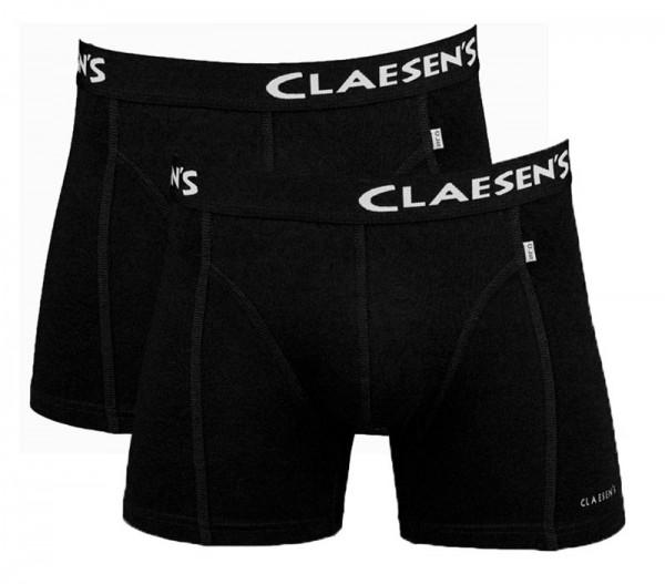 Claesens boxershort Boston 2-pack zwart