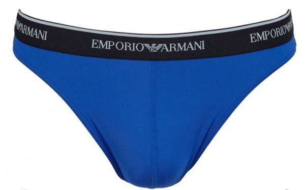 Armani herenstring microfiber blue