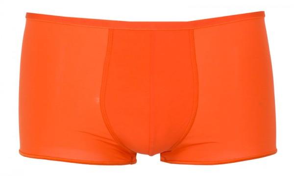Hom short Plumes microfiber oranje
