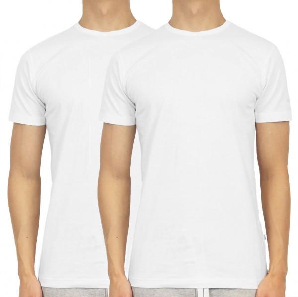 Claesens T-shirt 1020 2-Pack wit