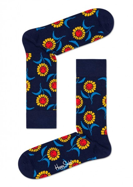 Happy Socks Sokken Sunflower