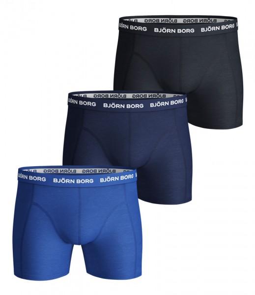 Bjorn Borg boxershorts Essential 3-pack blauw