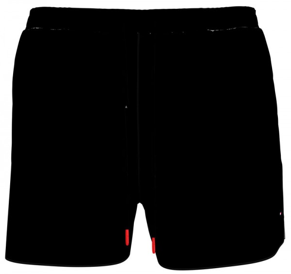 Tommy Hilfiger zwemshort medium drawstring zwart voorkant