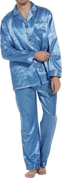 Satijnen doorknoop pyjama Robson