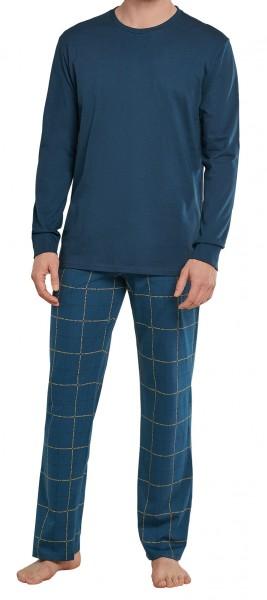 Schiesser heren pyjama ronde hals
