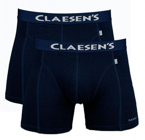 Claesens boxershort Boston 2-pack blauw