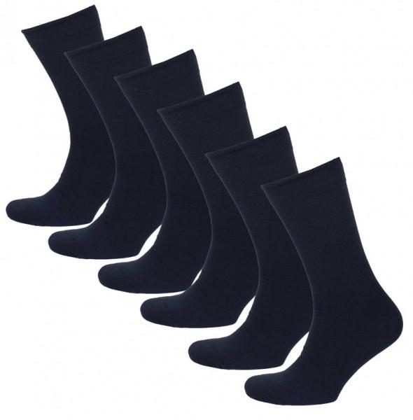 Onderbox heren sokken 6-paar blauw