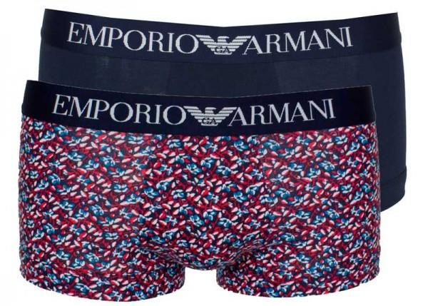 Armani short EA 2-pack print