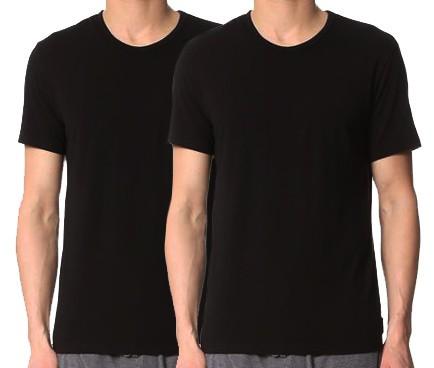 Calvin Klein T-shirt modern cotton 2-pack zwart