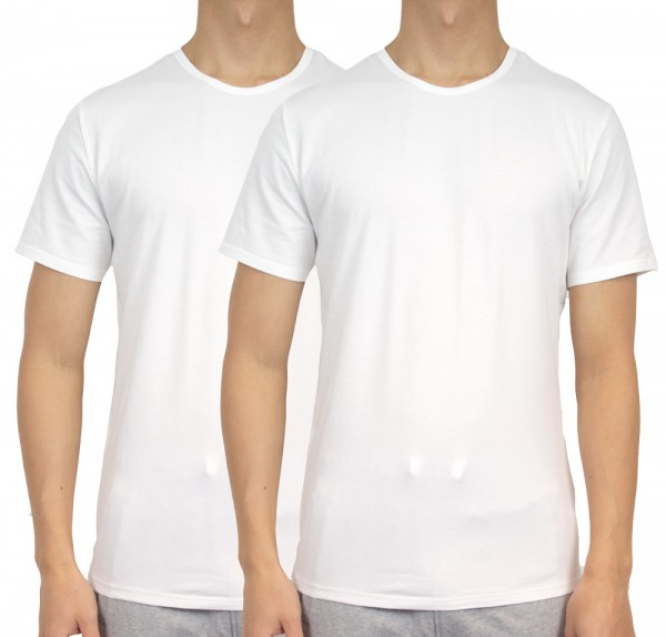 Calvin Klein T-shirt modern cotton 2-pack zwart wit