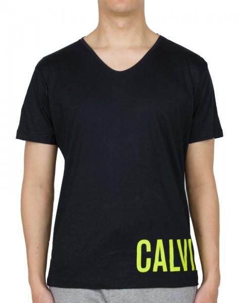 Calvin Klein T-shirt CK relax tee zwart