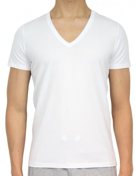HOM V-shirt Smart Cotton wit