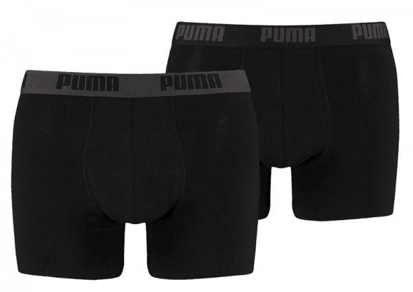 Puma boxershorts 2-pack zwart