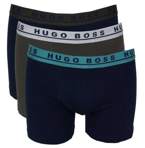 Hugo Boss Boxershorts 3-pack groen