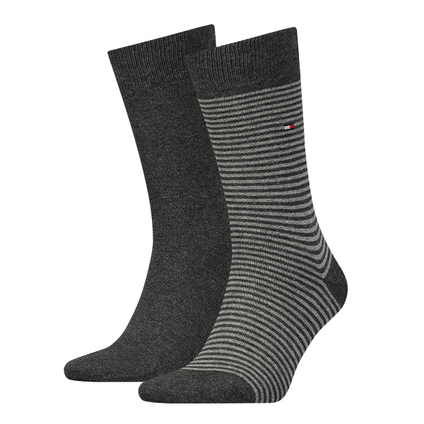 Tommy Hilfiger Sokken small stripe 2-paar