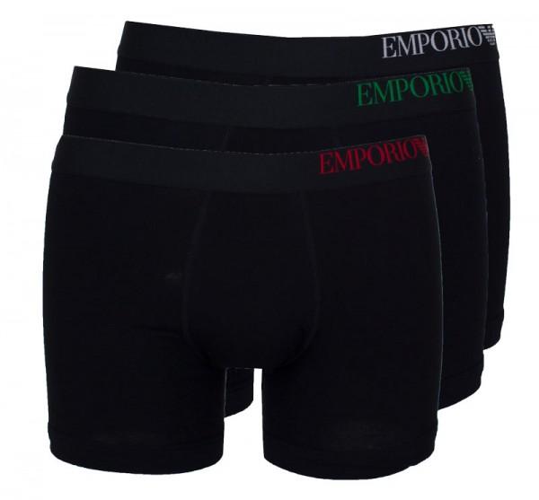 Armani boxershorts EA 3-pack zwart
