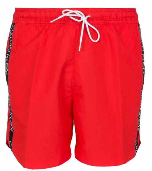 Calvin Klein zwemshort medium drawstring rood
