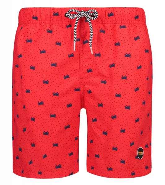 Shiwi Zwemshort Crabby rood