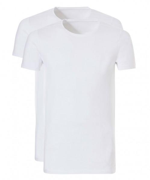 Ten Cate T-shirt basic Long 2pack wit