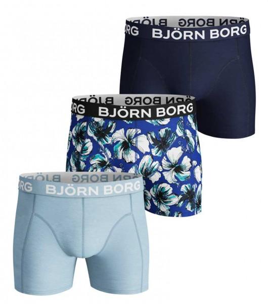 Bjorn Borg Boxershort 3-pack Hibiskus
