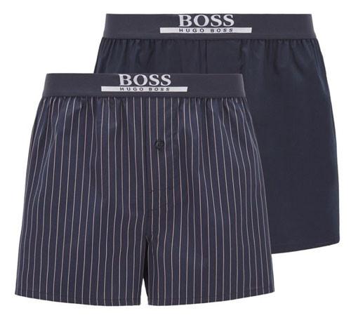 Hugo Boss heren wijde boxers 2-pack