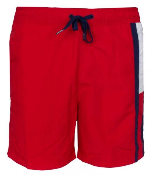 Tommy Hilfiger zwemshort Medium drawstring rood
