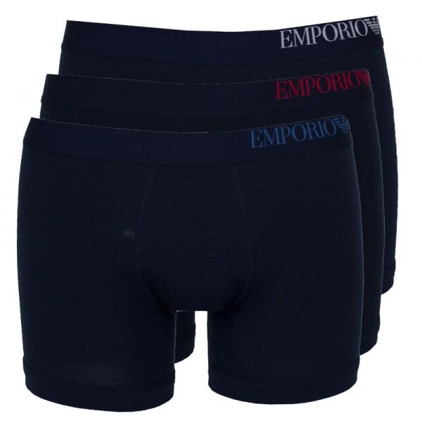 Armani boxershort EA 3-pack blauw
