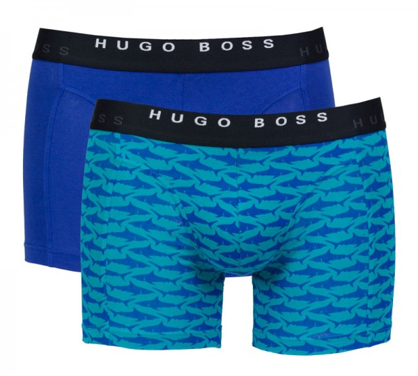 Hugo Boss Boxershorts 2-pack shark print