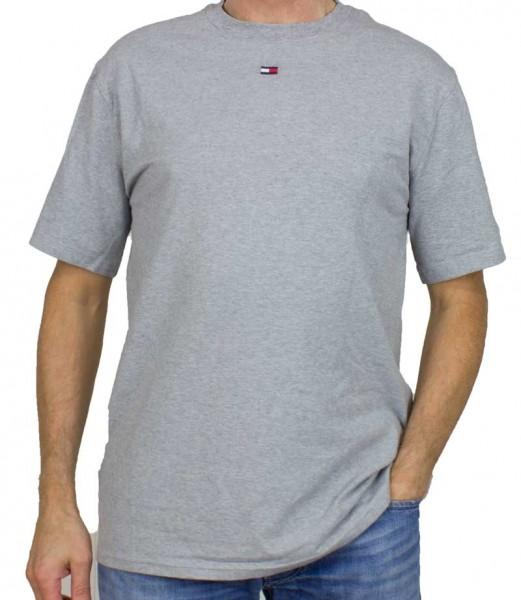 Tommy Hilfiger T-shirt TH flag logo grijs
