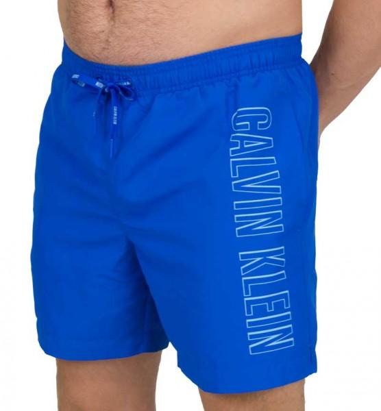 Calvin Klein zwemshort CK logo print blue
