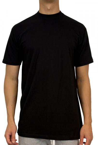 Hom T-shirt Harro hoge boord zwart
