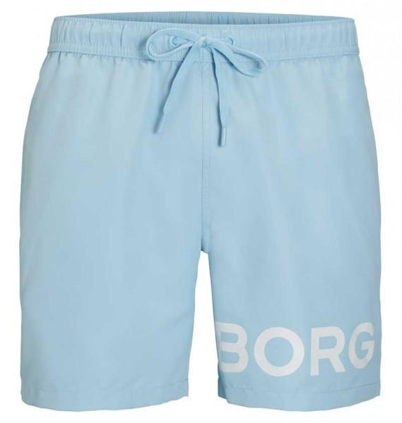 Bjorn Borg Zwemshort Sheldon blue