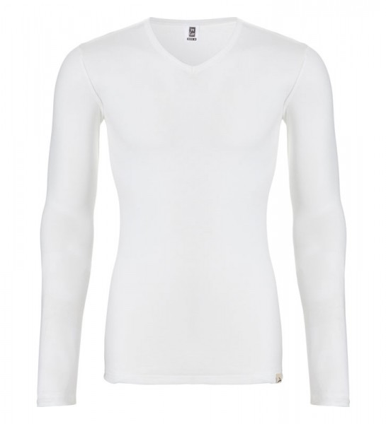 Ten Cate Thermo V-shirt lange mouw wit