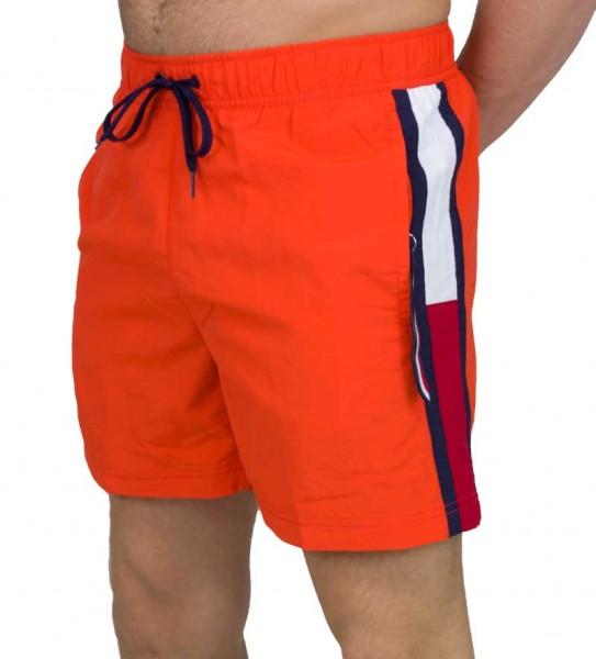 Tommy Hilfiger Zwemshort TH met logo band oranje