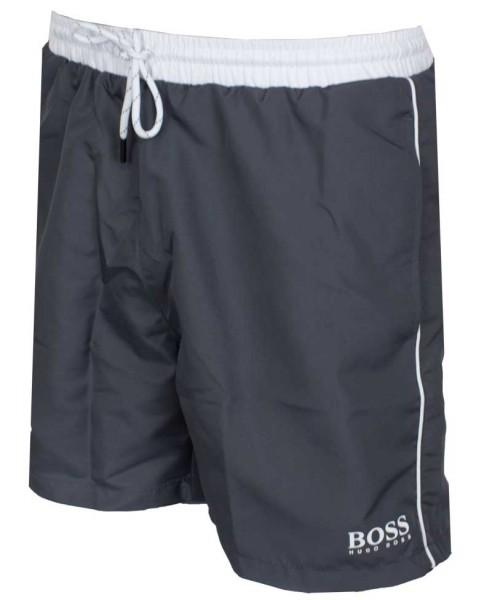 Hugo Boss Starfish zwemshort grijs-wit