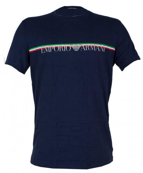 Armani T-shirt GA megalogo blauw