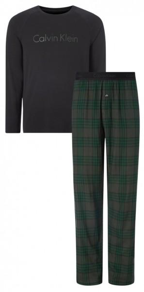 Calvin Klein pyjama met flanellen broek