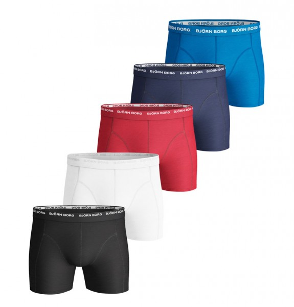 Bjorn Borg boxershorts Essential 5-pack rood